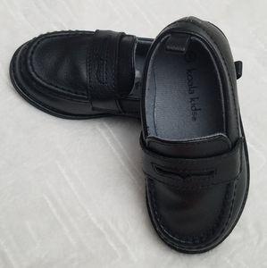 Koala Kids Toddler Boys Loafers Black Shoes